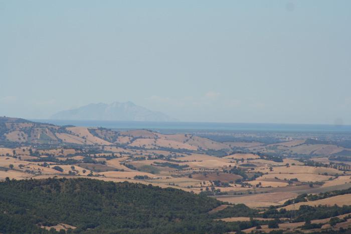 Una vista indimenticabile sulla Maremma Toscana