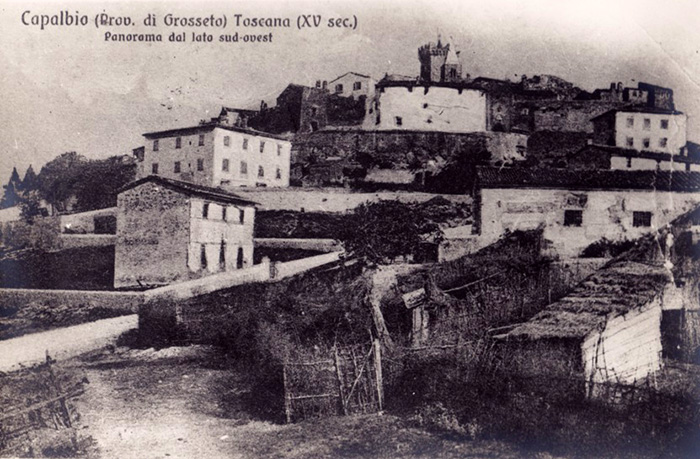 Capalbio, old postcard