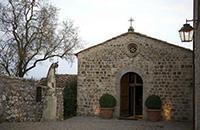 Chiesa di San Michele, località Castiglione del Bosco a Montalcino