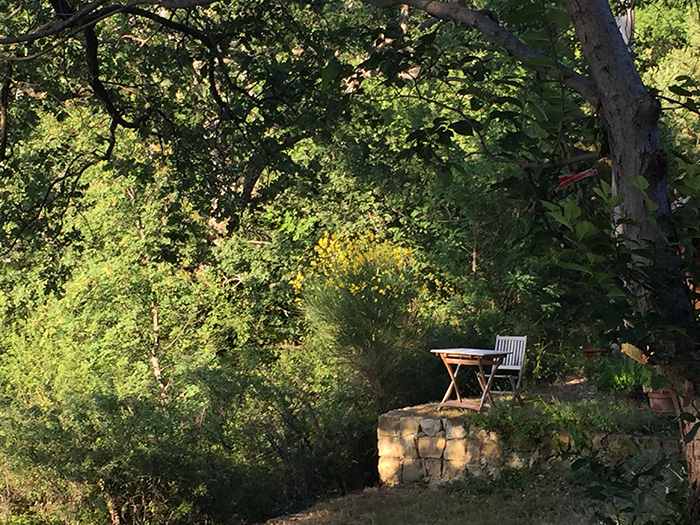 Secluded corners for writers or readers.