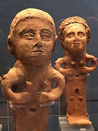 Sovana, Ex-voto da stipe del cavone, ex-voto, III-II sec. ac.