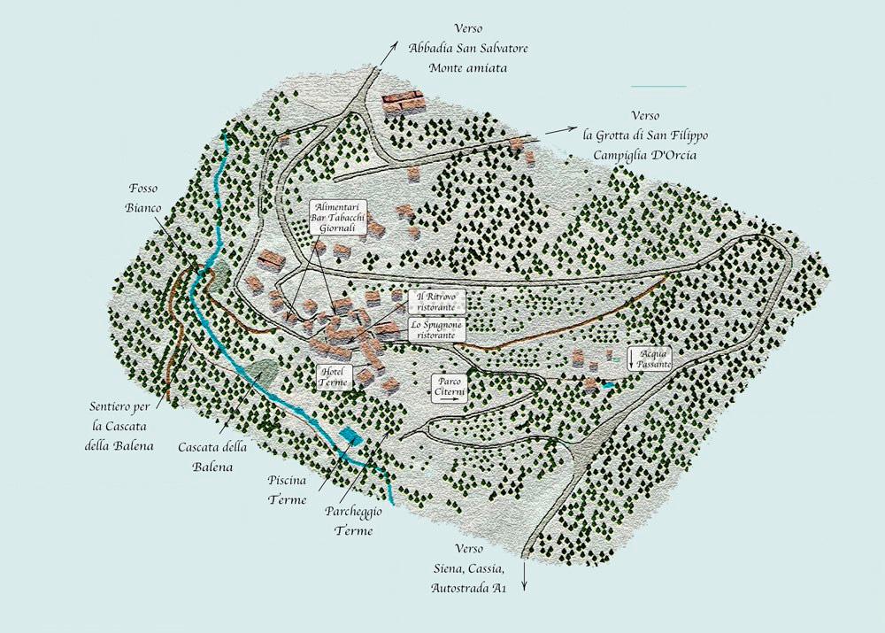 Terme libere come raggiungere le terme gratis pi belle - Bagno vignoni mappa ...